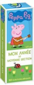 Les incollables ; Peppa Pig ; mon année de moyenne section - Couverture - Format classique