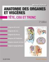 Anatomie des organes et viscères - Couverture - Format classique