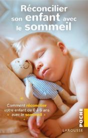Réconcilier son enfant avec le sommeil - Couverture - Format classique