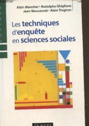 Les techniques d'enquête en sciences sociales - Couverture - Format classique