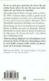 Voyageurs Du Reve - 4ème de couverture - Format classique