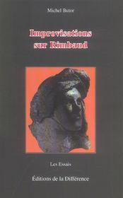 Improvisations sur rimbaud - Intérieur - Format classique
