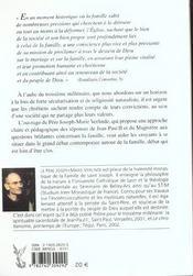 Familles... A Vos Marques - A L'Aube Du Iiie Millenaire, La Reponse Du Magistere Aux Defis Lances A - 4ème de couverture - Format classique