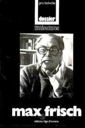 Max Frisch - Couverture - Format classique