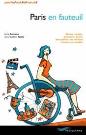 Paris en fauteuil - Couverture - Format classique