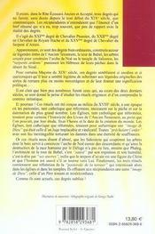 Tour inachevee (la) - 4ème de couverture - Format classique