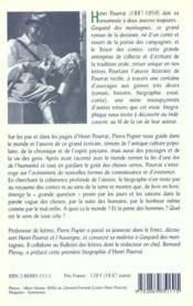 Henri pourrat et la grande question - 4ème de couverture - Format classique