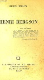 Henri Bergson - Couverture - Format classique
