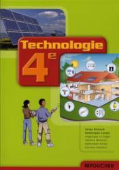 technologie confort et domotique 4 me ouvrage serge richard. Black Bedroom Furniture Sets. Home Design Ideas