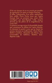 Pomone ou la naissance de l'opera francais - 4ème de couverture - Format classique