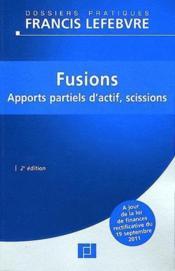 Fusions (2e édition) - Couverture - Format classique