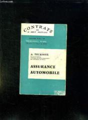 Assurance Automobile. - Couverture - Format classique