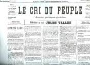 Fac Simile. Le Cri Du Peuple N° Inconnu. Du 2 Avril 1871. - Couverture - Format classique