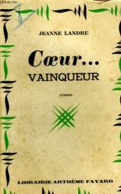 Coeur Vainqueur. - Couverture - Format classique