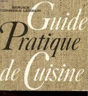 Guide Pratique De Cuisine - Couverture - Format classique