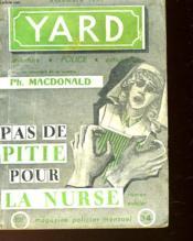 Yard - Pas De Pitie Pour La Nurse - N°34 - Couverture - Format classique