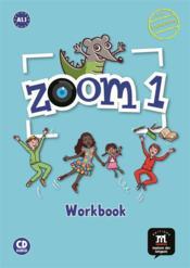 Zoom 1 ; FLE ; cahier d'activités - Couverture - Format classique