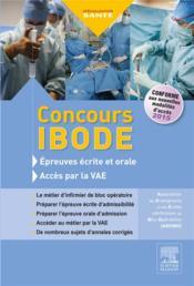 ENTRAINEMENT ; concours IBODE ; épreuves écrite et orale et accès par la VAE - Couverture - Format classique