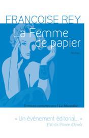 La femme de papier - Couverture - Format classique