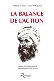 La balance de l'action ; traité d'éthique - Couverture - Format classique