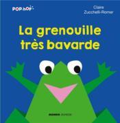 La grenouille très bavarde - Couverture - Format classique