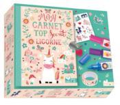 Mon carnet top secret ; licorne - Couverture - Format classique