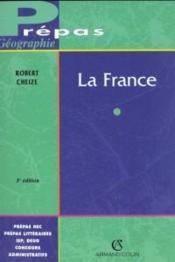 La France ; 3e Edition - Couverture - Format classique