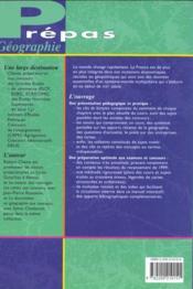 La France ; 3e Edition - 4ème de couverture - Format classique