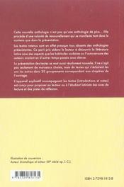 Anthologie Nouvelle De Textes Latins Latine Scripta - 4ème de couverture - Format classique
