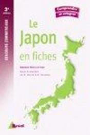 Le japon en fiches ; concours commerciaux (3e édition) - Intérieur - Format classique