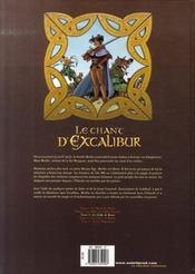 Le chant d'Excalibur t.3 ; la griffe de Rome - 4ème de couverture - Format classique