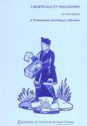 Libertinage Et Philosophie N8 - Intérieur - Format classique