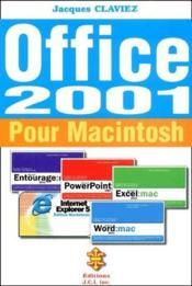 Office 2001 pour Macintosh - Couverture - Format classique