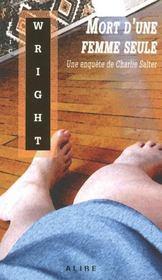 Mort d'une femme seule - une enquete de charlie salter - Intérieur - Format classique