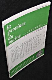 La province du Maine. Revue trimestrielle. Tome 82. 4e série. Tome XII. Fascicule 47. Juillet-Septembre 1983 - Couverture - Format classique