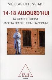 14-18 aujourd'hui ; la grande guerre dans la France contemporaine - Couverture - Format classique