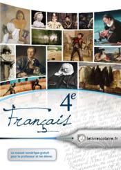 Français ; 4ème - Couverture - Format classique