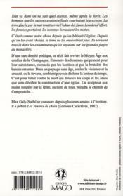 Le lépreux de Compostelle - 4ème de couverture - Format classique