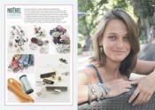 Bracelets en liberty ; 50 modèles - Couverture - Format classique