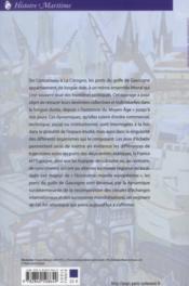 Ports du golfe de gascogne - 4ème de couverture - Format classique