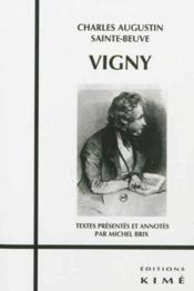 Vigny - Couverture - Format classique