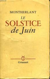 Le Solstice De Juin. - Couverture - Format classique