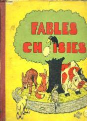 Fables Choisies De La Fontaine Et Florian. - Couverture - Format classique