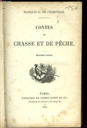 Contes De Chasse Et De Peche - Couverture - Format classique