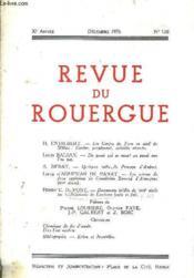 Revue Du Rouergue 30e Annee Decembre 1976 N°120. - Couverture - Format classique