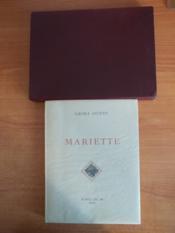 Mariette - Couverture - Format classique