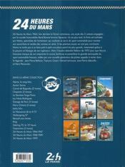 24 heures du Mans ; 1972-1974 ; les années Matra - 4ème de couverture - Format classique