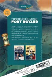 7 heures pour sauver Fort Boyard - 4ème de couverture - Format classique