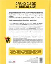 Grand guide du bricolage (3e édition) - 4ème de couverture - Format classique