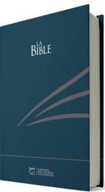 Bible Segond 21 compacte, rigide skivertex bleu - Couverture - Format classique